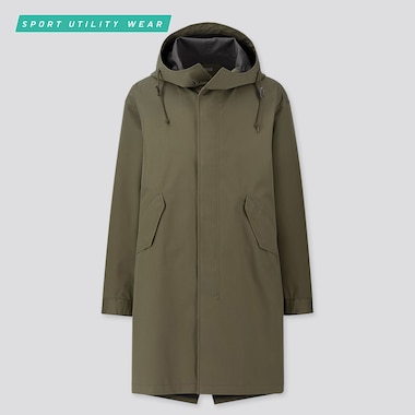 MEN BLOCKTECH FISHTAIL PARKA, OLIVE, medium