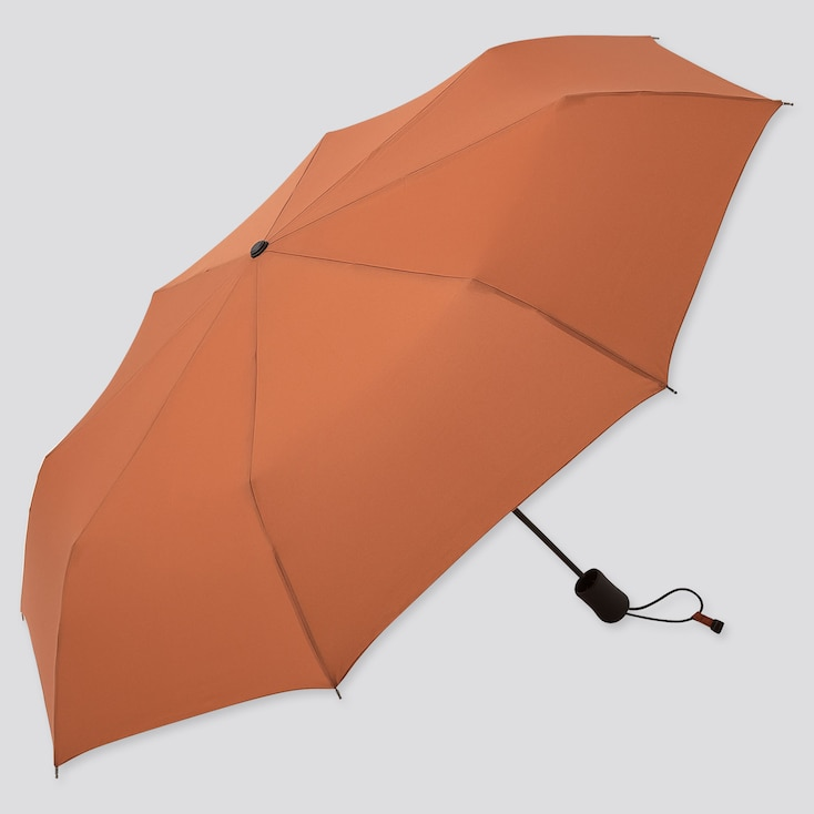 COMPACT UMBRELLA, ORANGE, large