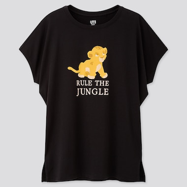 T-SHIRT UT STAMPA THE LION KING DONNA