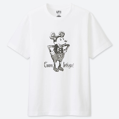 T-SHIRT STAMPA UT MICKEY ART UOMO