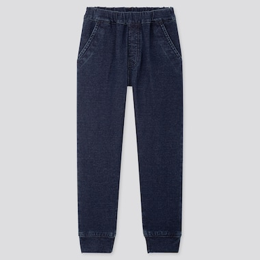 KIDS DENIM STRETCH JOGGERS