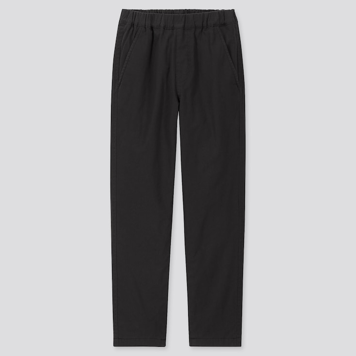 KIDS STRETCH WARM-LINED PANTS, BLACK, large