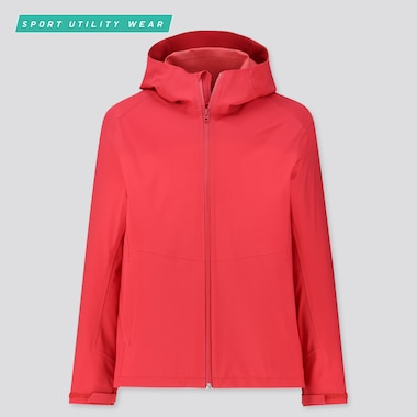 MEN BLOCKTECH PARKA, RED, medium