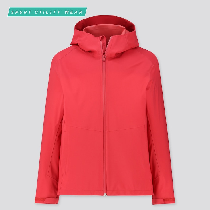 MEN BLOCKTECH PARKA, RED, large