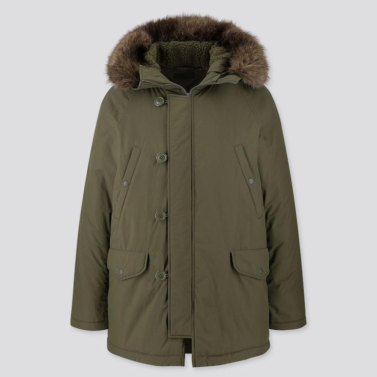 Men N-3b Jacket, Dark Green, Large