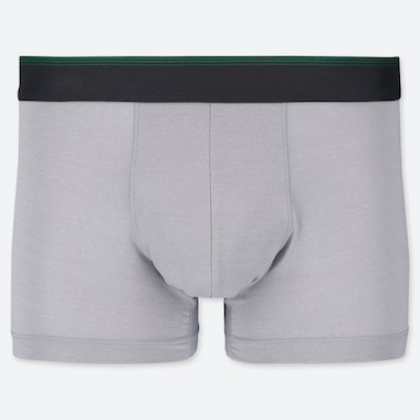 Men Airism Low-Rise Boxer Briefs, Light Gray, Medium