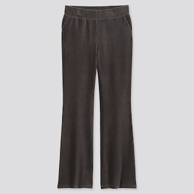 WOMEN CORDUROY FLARED TROUSERS