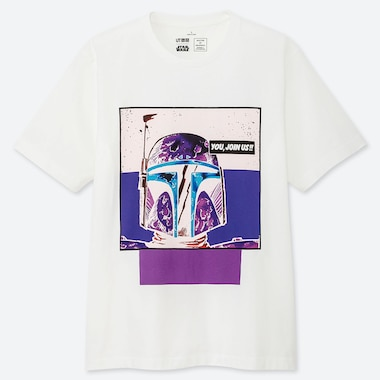 MASTER OF GRAPHICS FEATURING STAR WARS UT TETSU NISHIYAMA (SHORT-SLEEVE GRAPHIC T-SHIRT), WHITE, medium