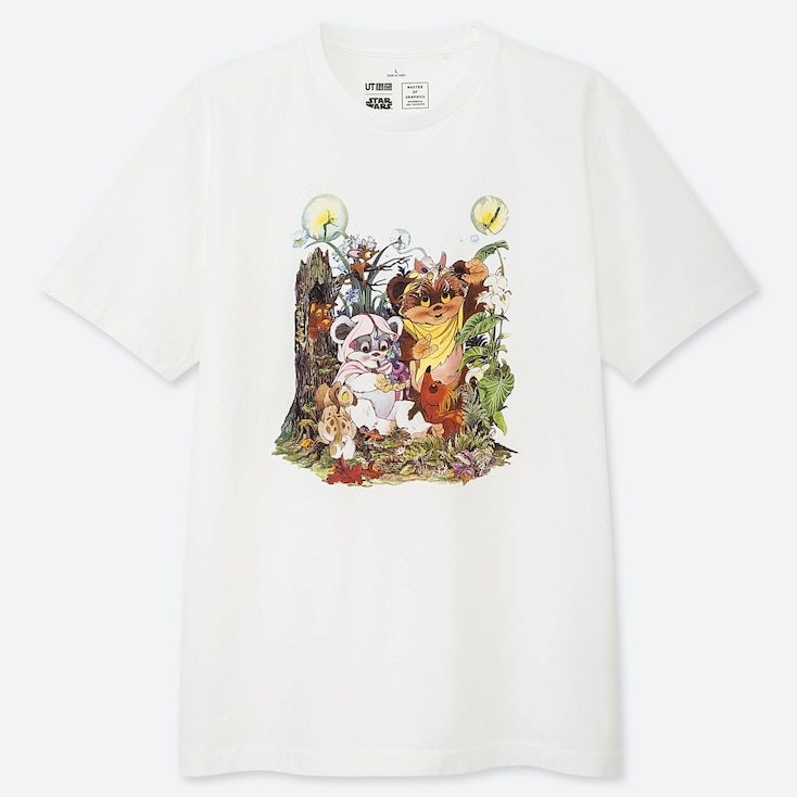 MASTER OF GRAPHICS FEATURING STAR WARS UT JUN TAKAHASHI (SHORT-SLEEVE GRAPHIC T-SHIRT), WHITE, large