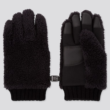 KIDS HEATTECH LINED FLEECE GLOVES