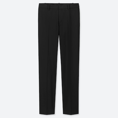 WOMEN STRETCH PANTS (ONLINE EXCLUSIVE), BLACK, medium