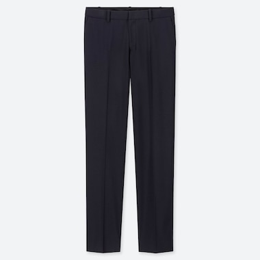 WOMEN STRETCH PANTS (ONLINE EXCLUSIVE), BLUE, medium