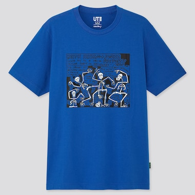 MEN KEITH HARING PARTY OF LIFE UT GRAPHIC T-SHIRT