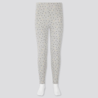 GIRLS DOTTED PRINT LEGGINGS