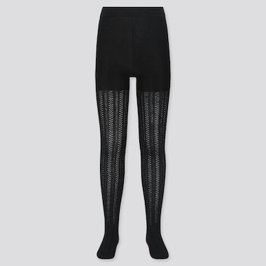COLLANTS MAILLE CHEVRON FILLE