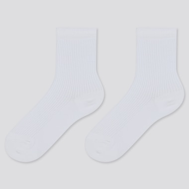 KIDS REGULAR SOCKS (2 PAIRS), WHITE, medium