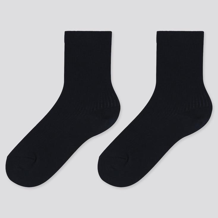 KIDS REGULAR SOCKS (2 PAIRS), NAVY, large