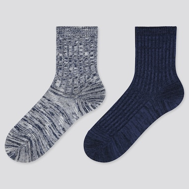 KIDS REGULAR SOCKS (2 PAIRS), BLUE, medium