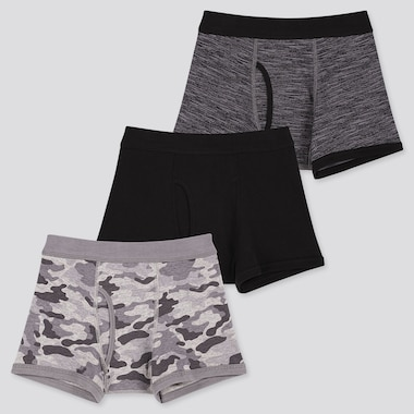 BOYS BOXER BRIEFS (SET OF 3), LIGHT GRAY, medium