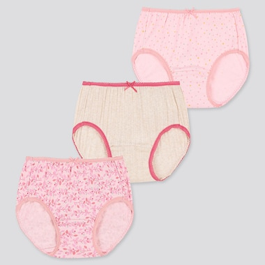 GIRLS SHORTS (SET OF 3), PINK, medium