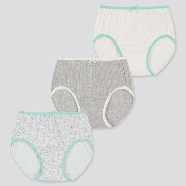 GIRLS SHORTS (SET OF 3), GREEN, medium