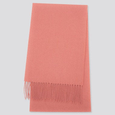 CASHMERE SCARF, PINK, medium