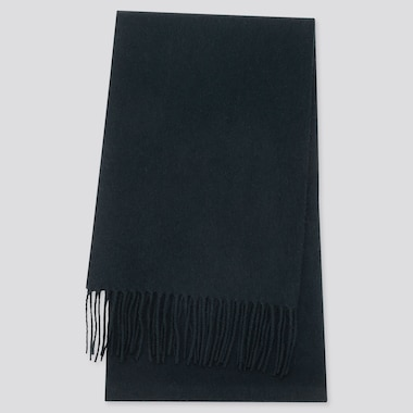 CASHMERE SCARF, DARK GREEN, medium