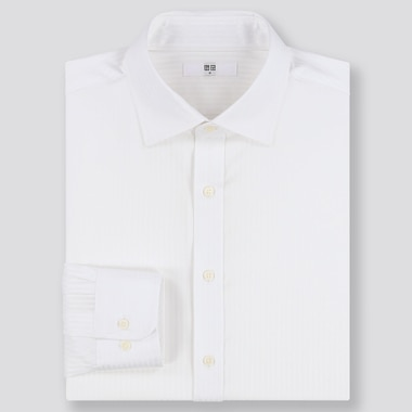 MEN EASY CARE DOBBY REGULAR FIT SHIRT