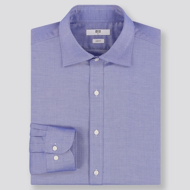 MEN EASY CARE SLIM FIT OXFORD SHIRT (SEMI-CUTAWAY COLLAR)