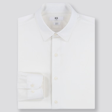 MEN EASY CARE BROADCLOTH SLIM FIT SHIRT
