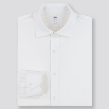 MEN EASY CARE DOBBY SLIM FIT SHIRT