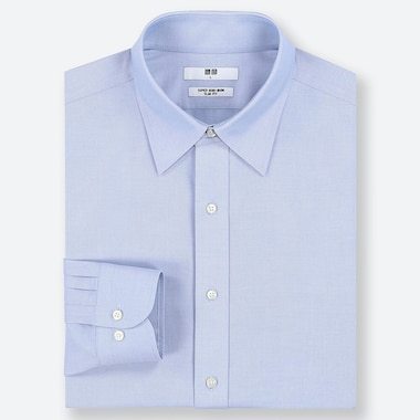CAMICIA UOMO SLIM FIT SUPER NO STIRO (COLLETTO CLASSICO)