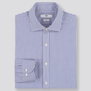 MEN EASY CARE SLIM FIT STRIPED SHIRT