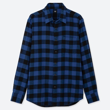 MEN FLANNEL CHECKED SHIRT