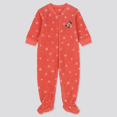 UT Disney Pyjama Polaire Une Pièce Manches Longues Écusson Minnie Bébé