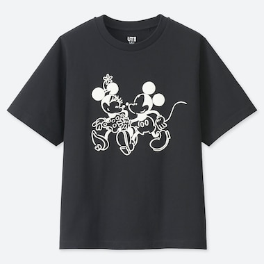 T-SHIRT STAMPA UT MICKEY ART DONNA