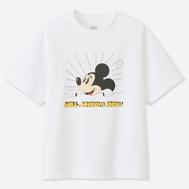 DAMEN UT BEDRUCKTES T-SHIRT MICKEY ART