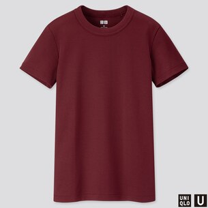 WOMEN U CREW NECK SHORT-SLEEVE T-SHIRT/us/en/women-u-crew-neck-short-sleeve-t-shirt-421301.html