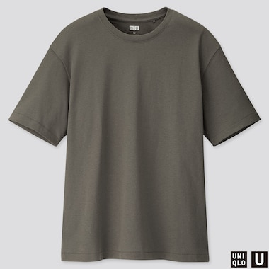 WOMEN UNIQLO U RELAXED FIT CREW NECK SHORT SLEEVED T-SHIRT