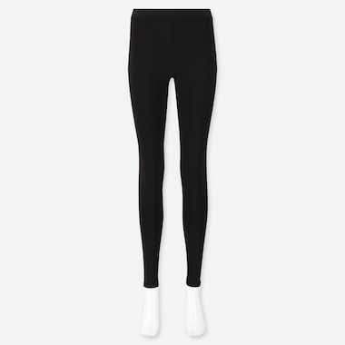 WOMEN HEATTECH EXTRA WARM LEGGINGS, BLACK, medium