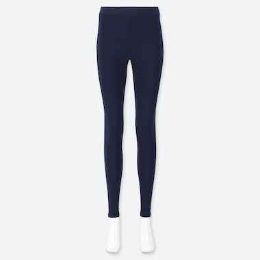 WOMEN HEATTECH EXTRA WARM LEGGINGS, NAVY, medium