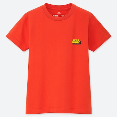 KIDS MASTER OF GRAPHICS FEATURING STAR WARS UT (SHORT-SLEEVE GRAPHIC T-SHIRT), ORANGE, medium