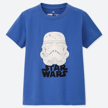 KINDER UT BEDRUCKTES T-SHIRT STAR WARS