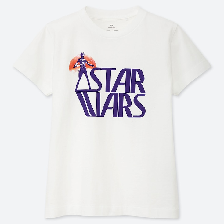 KIDS MASTER OF GRAPHICS FEATURING STAR WARS UT (SHORT-SLEEVE GRAPHIC T-SHIRT), WHITE, large