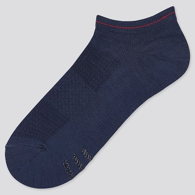 WOMEN SPORTS SHORT SOCKS (3 PAIRS), NAVY, medium