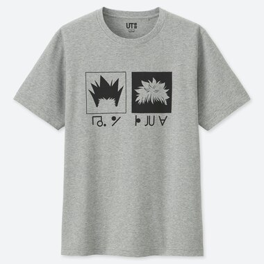 MEN MANGA HUNTER X HUNTER UT GRAPHIC T-SHIRT