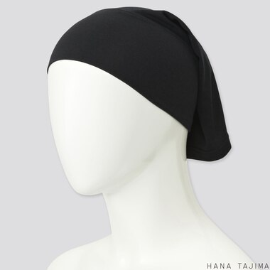 WOMEN AIRism HEADBAND (HANA TAJIMA), BLACK, medium