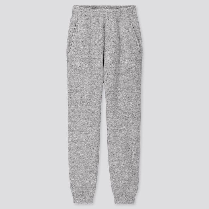 KIDS PILE-LINED SWEATPANTS, GRAY, large