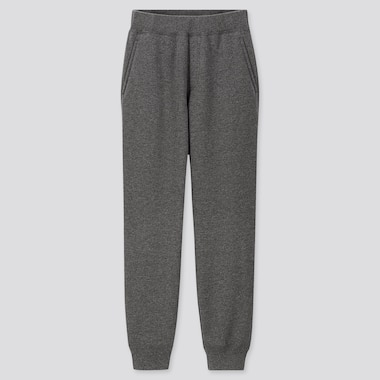 KIDS PILE-LINED SWEATPANTS, DARK GRAY, medium