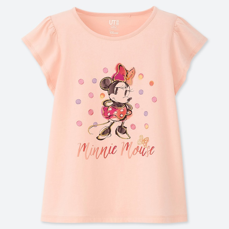 GIRLS DISNEY HEROINES UT (SHORT-SLEEVE GRAPHIC T-SHIRT), PINK, large
